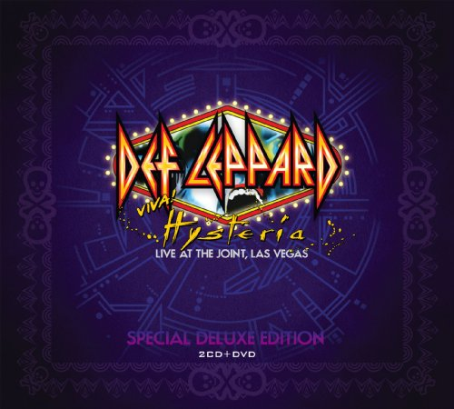 Def Leppard - Viva! Hysteria (2CD/DVD Deluxe Edition) - Zortam Music