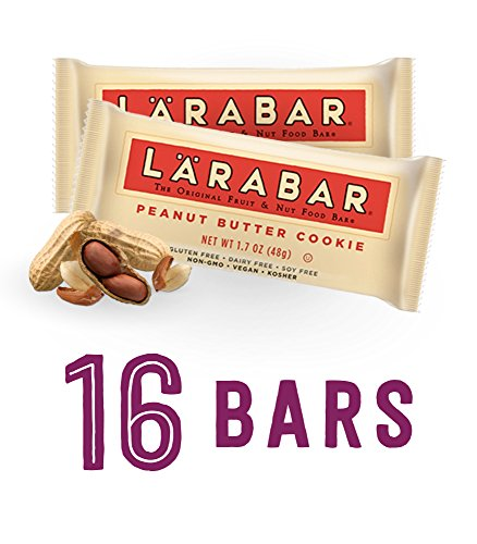 Larabar Gluten Free Bar, Peanut Butter Cookie, 1.7 oz Bars (16 Count) (Gluten Free Peanut Butter Bars compare prices)
