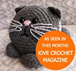 Kitten Crochet Kit. 100% Lambswool ya...