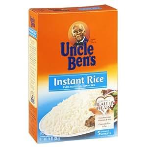 Amazon.com : Uncle Bens 5 Minute Enriched Long Grain