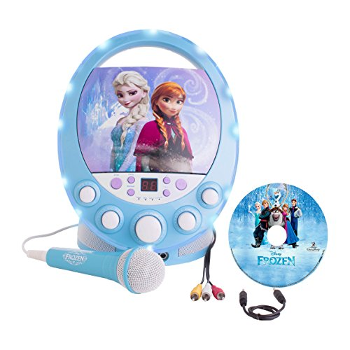 Frozen Disney Disco Party Karaoke with Light