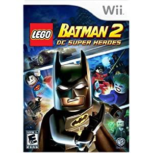 LEGO Batman 2 DC Super Heroes Wii Video Game