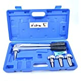 "Iwiss-f1960 Manual Tool Kit with 1/2"",3/4"",1"" Expansion Heads for Propex Expansion"