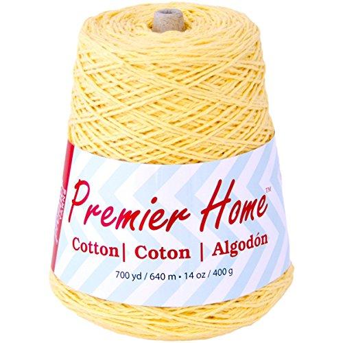 Home Cotton Yarn - Solid Cone-Yellow (Yarn Cotton Cone compare prices)