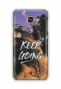 YuBingo Keep Going Designer Mobile Case Back Cover for Samsung Galaxy A5 2016