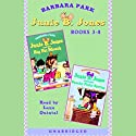 Junie B. Jones Collection: Books 3-4 Audiobook by Barbara Park Narrated by Lana Quintal