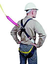 Mutual 50077 D-Ring Safety Harness and Lanyard Combo