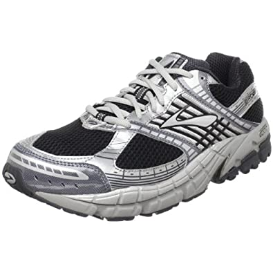 Brooks Men's Beast Running Shoe,Anthracite/White/Black/Silver,8.5 D(M) US