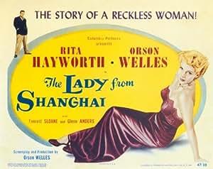 The Lady From Shanghai Affiche du film Poster Movie La dame de Shanghaï (11 x 14 In - 28cm x 36cm) Style B