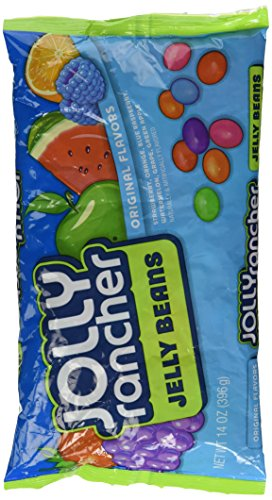 Jolly Rancher Jelly Beans, 14-Ounce Bag (Pack of 6) (Packages Of Blue Jelly Beans compare prices)