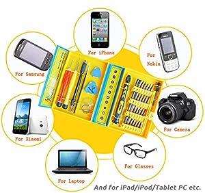 38 in 1 Premium Screwdriver Set Repair Tool Kit Fix Iphone/laptop/smartphone/macbook/xbox with Case