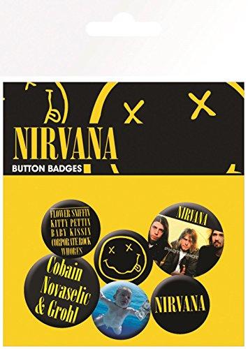 GB eye LTD, Nirvana, Smiley, Set di spille