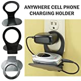 Cell Phone Charger Holder Foldable Stand Travel Gadget!