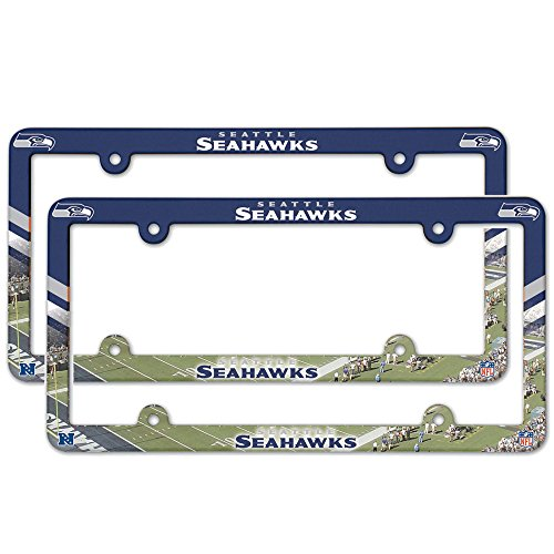 Seattle-Seahawks-NFL-Plastic-License-Plate-Frame-2-Pack