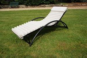 Transat de jardin gym futon beige jardin - Transate de jardin ...