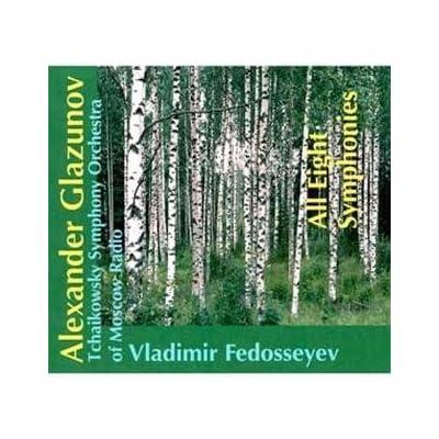 Les symphonies de Glazounov 51fXLjASQaL._SS400_