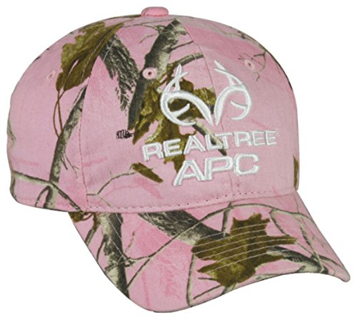 Review Ladies Realtree APC Pink Camo Hunting Hat