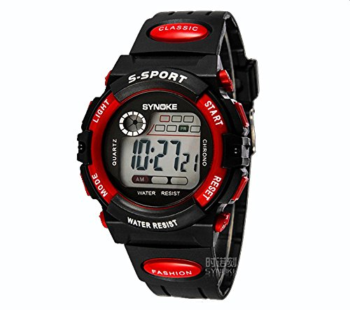 ufengke-sports watches usually waterproof electronic watch-children-infrared