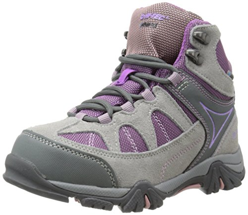 Hi-Tec Altitude Lite I Waterproof JR Hiking Boot (Toddler/Little Kid/Big Kid),Warm Grey/Orchid/Horizon,12 M US Little Kid