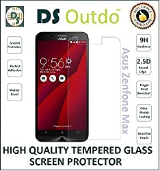 DSOutdo Outdo Asus Zenfone Max High Quality Premium Tempered Glass Screen Protector