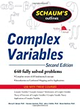 img - for Schaum's Outline of Complex Variables, 2ed (Schaum's Outline Series) book / textbook / text book