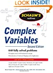Schaum's Outline of Complex Variables...