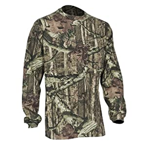 Yukon Gear Men's Hunting Long Sleeve T-Shirt, Obsession Camouflage, Medium