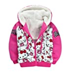 SOPO Kitty Toddler Girl Winter Jacket...
