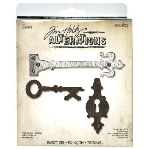 Sizzix Bigz BIGkick/Big Shot Die by Tim Holtz, Hardware Findings