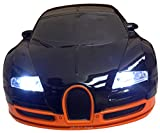 Scaled RC Mode No.3688-G4 1:18 BUGATTI VEYRON like Black/Orange