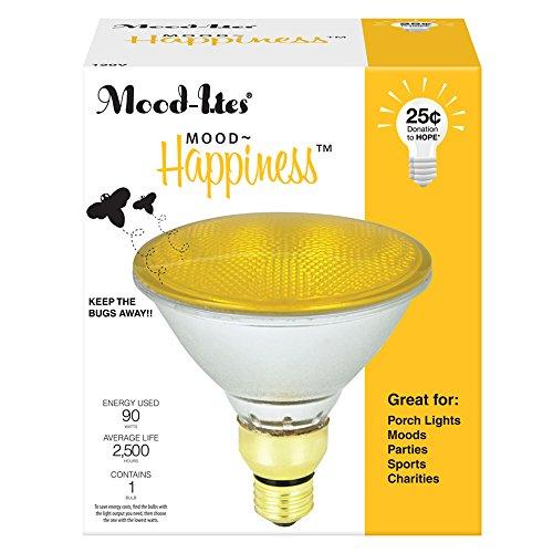Feit Ml90Par/Qfl/Y 90W Par38 Halogen Light, Yellow, 1-Pack