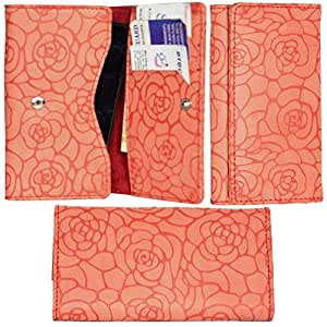 R&A Pu Leather High Quality Wallet Pouch Case Cover With Card Slot & Note Slots,Soft Inner Velvet For Xiaomi Redmi Note
