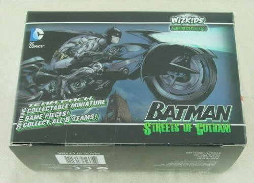 Heroclix Batman: Streets of Gotham TEAM Miniatures Pack (3 Miniatures) - 1