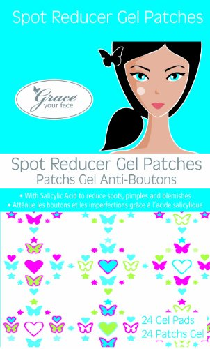 Grace Your Face - Spot Reducer Gel Pads (contains 24 patches)