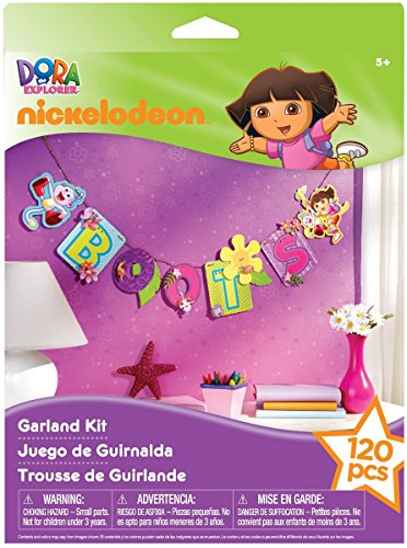 EK Success Nickelodeon Dora The Explorer Interlocking Garland Kit - 1