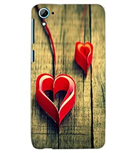 HTC DESIRE 826 HEART Back Cover by PRINTSWAG