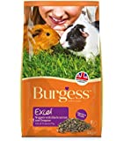 Excel Guinea Pig Blackcurrant and Oregano Tasty Nuggets 2 kg (Pack of 2)