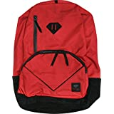Diamond Life Backpack Red Black Skate Backpacks by Diamond