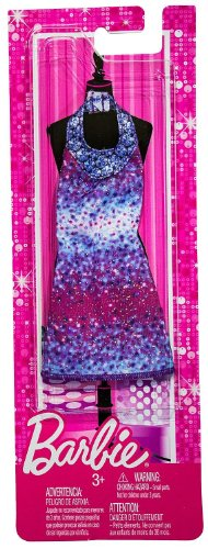Tie-Dye Print Halter Dress: Barbie Fashionistas Fashion Pack - 1