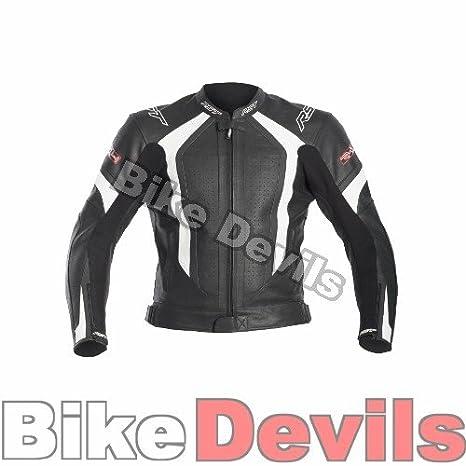 Nouvelle veste de moto en cuir blanc de la TVD no R-1488
