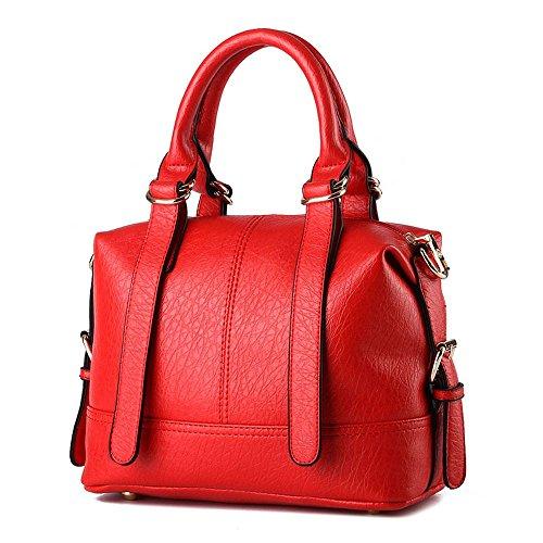 koson-man-damen-gurtel-sling-tote-taschen-top-griff-handtasche-rot-rot-kmukhb213