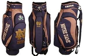 NCAA Notre Dame Team Cart Golf Bag by Team Golf