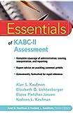 Essentials of KABC-II Assessment