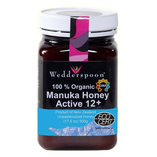 Wedderspoon Raw  Organic Manuka Honey Active