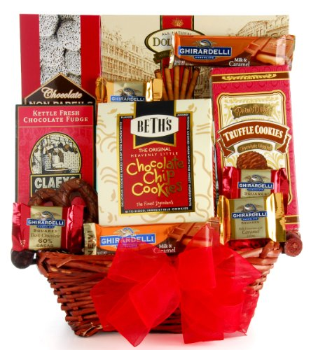 Image of Wine.com Say It With Chocolate Gift Basket
