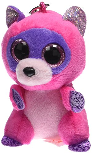 "Ty Beanie Boo 3"" Roxie the Raccoon Clip - 1"