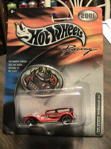 Hot Wheels 2001 Racing THE DEMON Ford Motorcraft 4/4 Series A collector car - 1