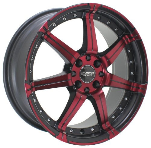 Kyowa Racing Series 518 Red/Machined - 18 x 7.5