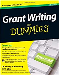 Grant Writing For Dummies by Browning Beverly A