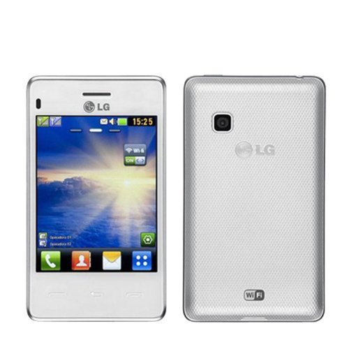 LG Cookie Smart T375 White WiFi Touchscreen Unlocked GSM Dual SIM Cell Phone